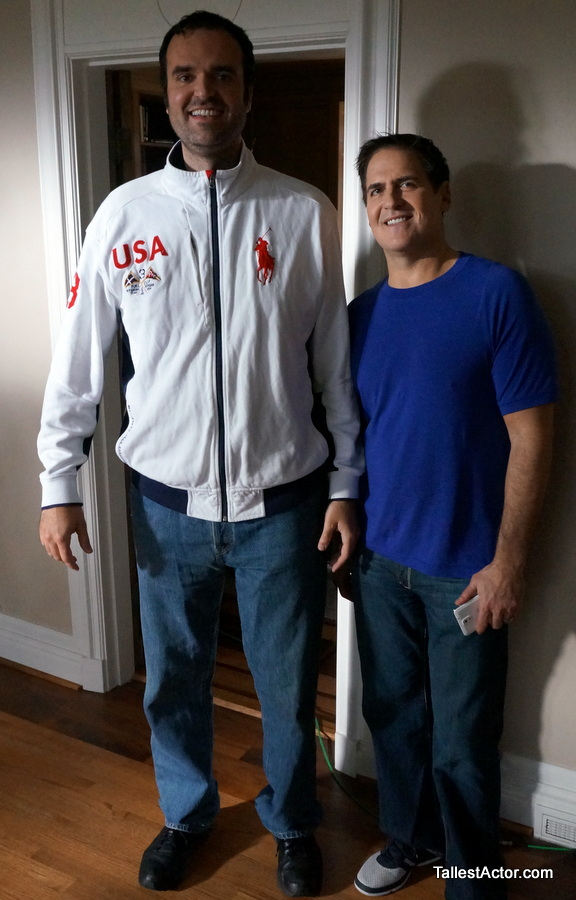 Tallest Actor In Hollywood - Mark Cuban